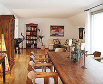 penthouse wohnung zooviertel d sseldorf. Black Bedroom Furniture Sets. Home Design Ideas